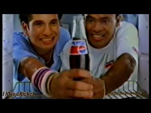 Funny Old Cricket ads of Indian Cricket Team    Sachin Tendulkar, Rahul Dravid        YouTube