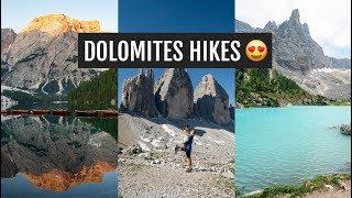Hiking the Dolomites: Lago di Braies, Tre Cime di Lavaredo, & Lago di Sorapis | Italy Day 1
