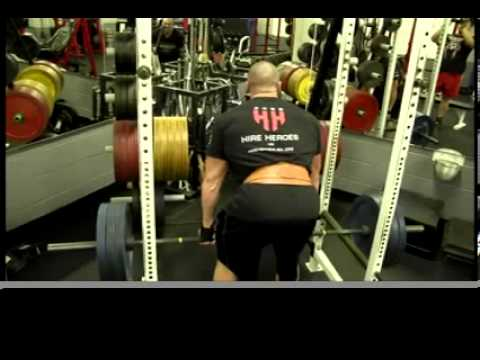 Back And Triceps At Terry Bryan's Gym In Cincinnati, OH! | Tiger Fitness
