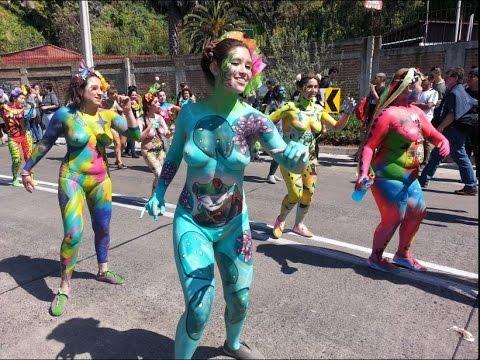 """mil tambores 2016 """"Cuerpos Pintados"""""""