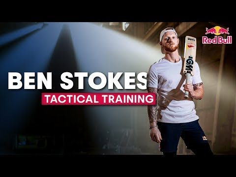 Tactical Training With Cricketer Ben Stokes | Catch, bowl, bat