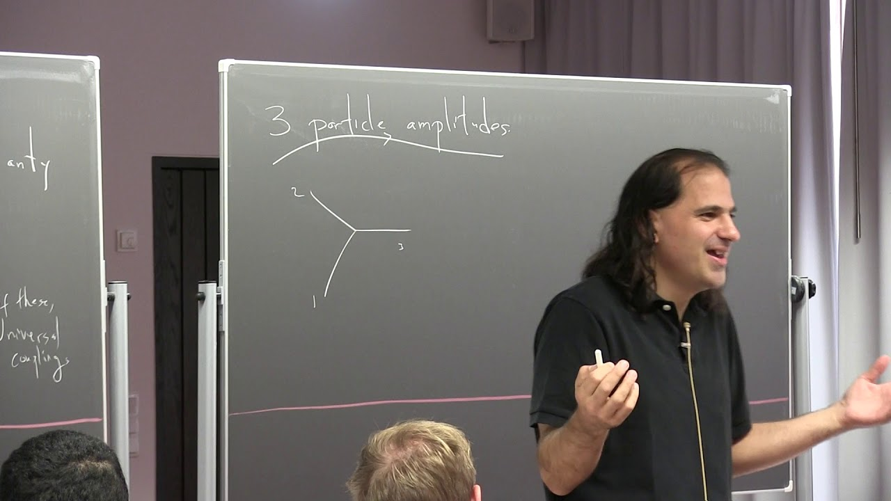 Nima Arkani Hamed (IAS): Collider Physics from the Bottom Up - Lecture 3