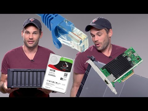 How To Build A 10Gb/s Network/Server