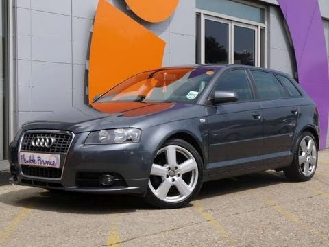 2008 audi a3 s line sportback 2 0tdi 140 grey for sale in for Dimensioni audi a3 sportback 2008