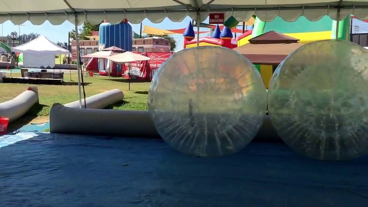 Wow Factor Fun Zone at the LA County Fair. Book us at your event at www.wowfactorattractions.com