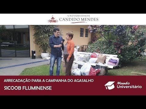 Arrecadação da Campanha do Agasalho SICOOB Fluminense