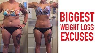 Biggest Weight Loss Excuses | Gauge Girl Training