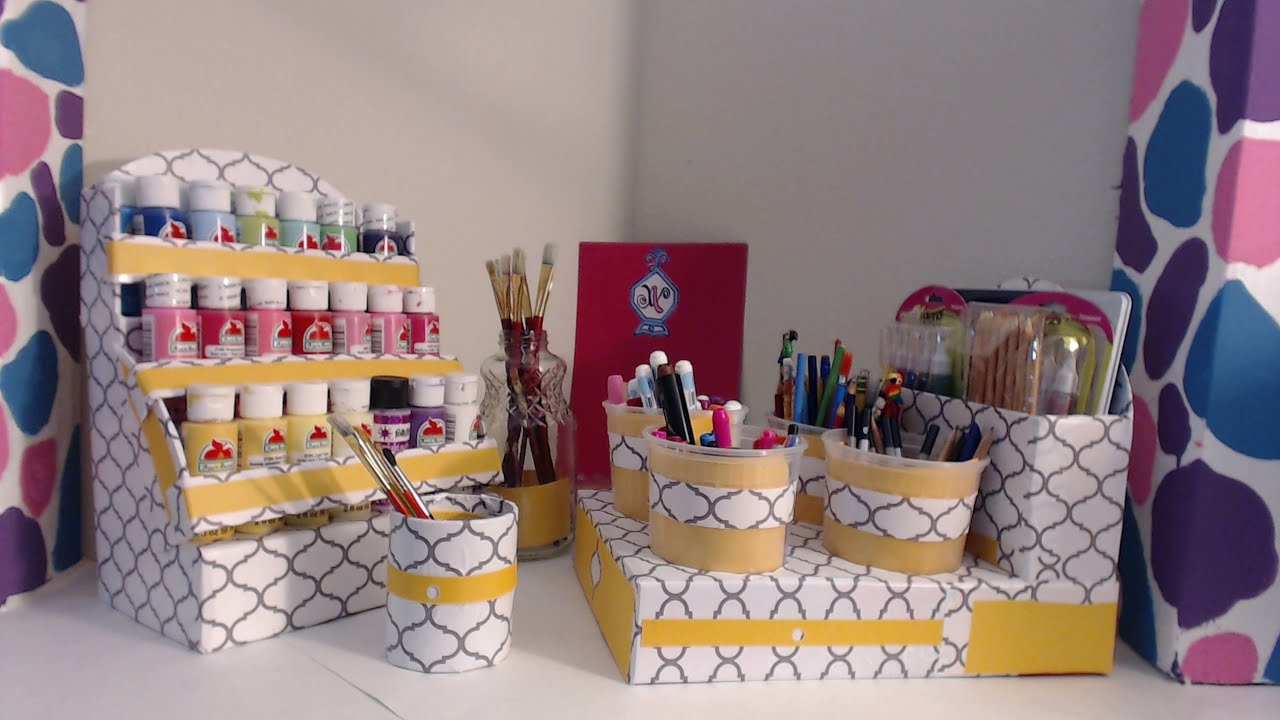 DIY Room Organization And Storage Ideas | Back To School | PICTURES    YouTube