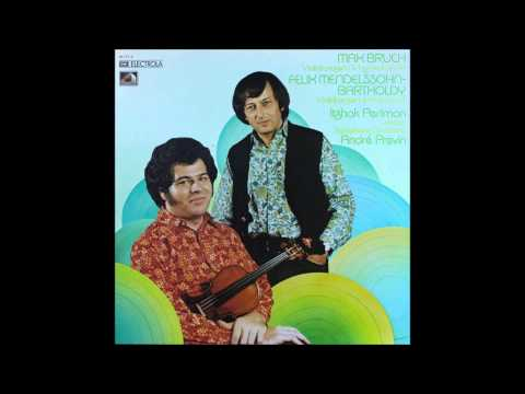 mendelssohn, violin concerto op 64, perlman and previn