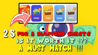 Download lagu 2$?! EXCHANGE TO 8 DIAMOND CHESTS!?    HOW MUCH I WILL EARN IN RETURN ?DONT FAIL CLIPCLAPS TRICKS !