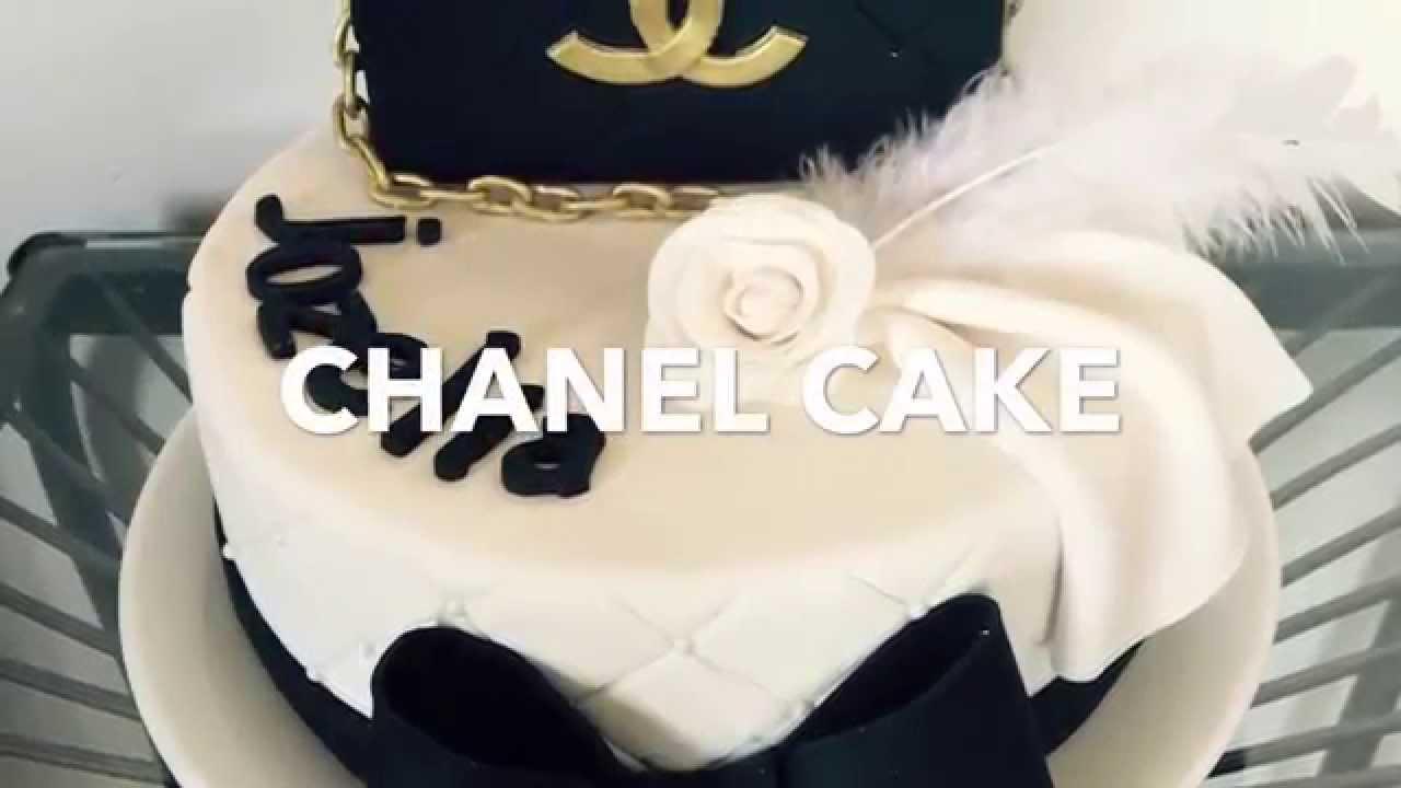 Bolo Chanel - Como fazer um bolo Chanel com pasta americana  - YouTube 4f26fe5146716