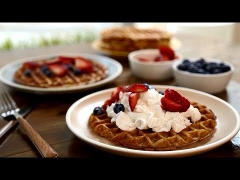 How To Make Cinnamon Belgian Waffles | Brunch Recipes | Allrecipes.com