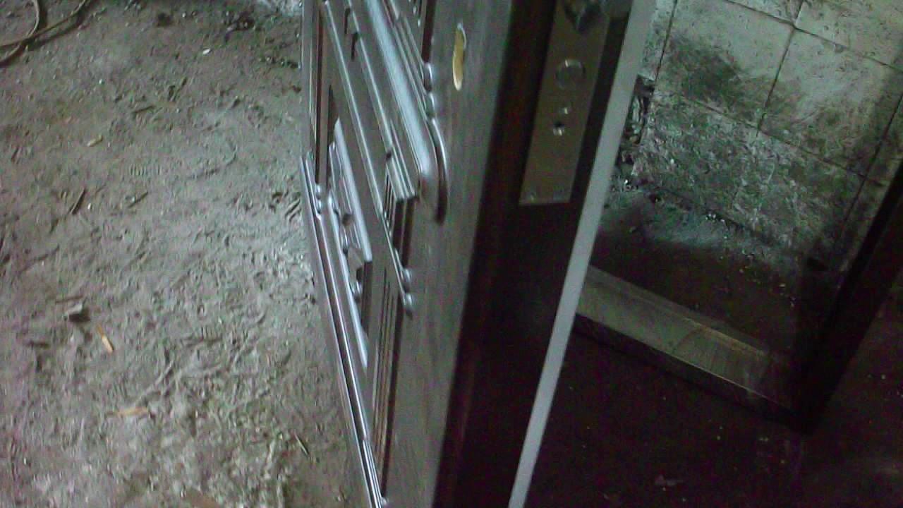 Входные двери эконом класса. - YouTube