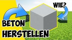 Minecraft Beton Herstellen | wie stellt man Beton in Minecraft her ?