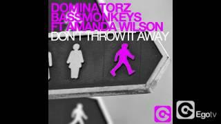 DOMINATORZ & BASSMONKEYS ft AMANDA WILSON - Don