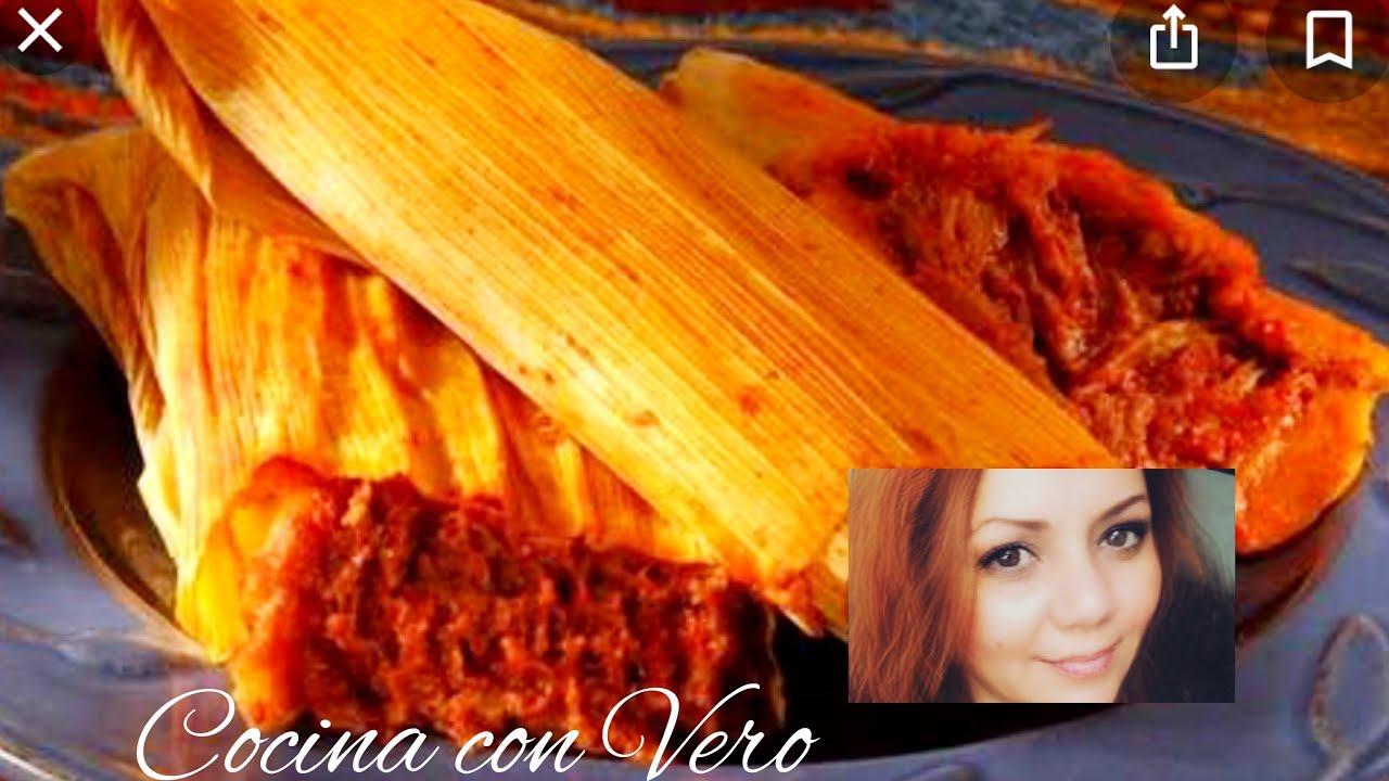 Tamales de frijoles con chorizo, rojo y rajas A mi estilo ...