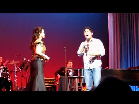 Random audience guy surprises ORIGINAL Jasmine  A WHOLE NEW WORLD