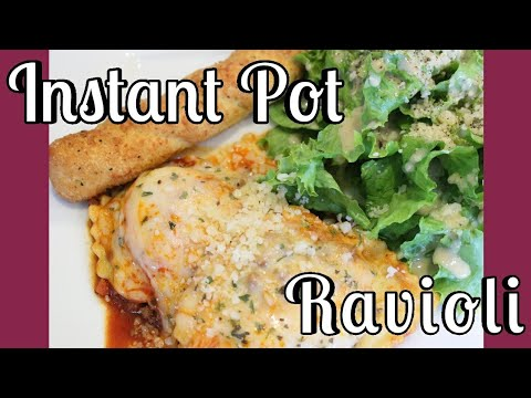 EASY! How to Make Instant Pot Pressure Cooker Ravioli From FROZEN Using my Instant Pot Ultra (107)