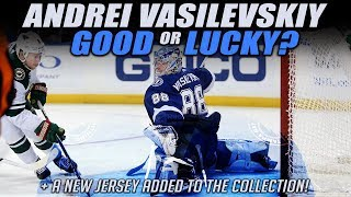 Vasilevskiy - Good or Lucky? + Another Jersey!