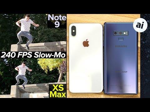 iPhone XS Max vs Note 9 Video Quality Comparison! 馃帴
