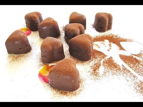 Εύκολα σοκολατάκια με ζαχαρούχο γάλα