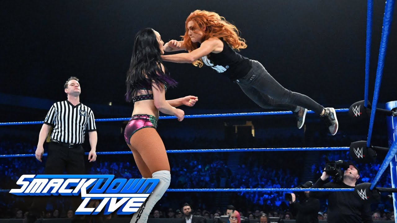 Becky Lynch vs. Peyton Royce: SmackDown LIVE, Jan. 15, 2019