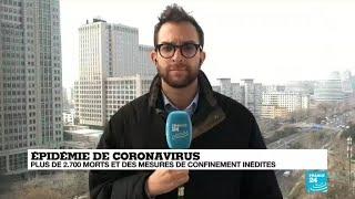 Épidémie de coronavirus : confusion dans les annonces en Chine