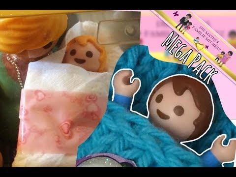 Die Geburt von Damon und Lisa - MEGA PACK - Playmobil Film deutsch