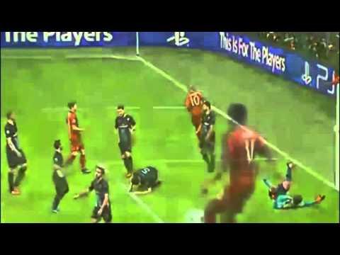 Арьен Роббен Гол БАВАРИЯ - АРСЕНАЛ 4:0 Лига чемпионов