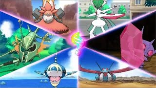 All Primal & Mega-Evolutions and Stats! - Pokémon Omega Ruby and Alpha Sapphire