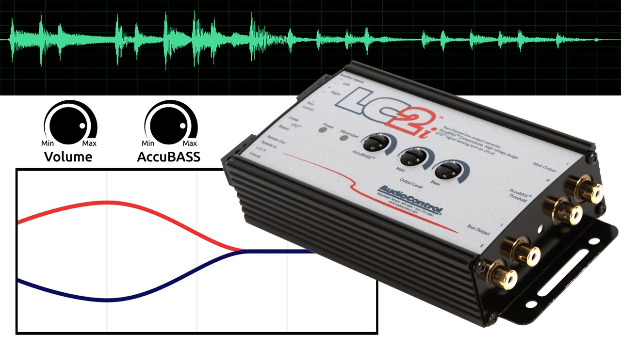 hight resolution of audiocontrol lc2i vs conventional loc premium line output converter benefits youtube