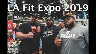 LA Fit Expo 2019 feat Brian Shaw Ray J Da Hulk Blessing Awodibu Terron Beckham Larry Wheels