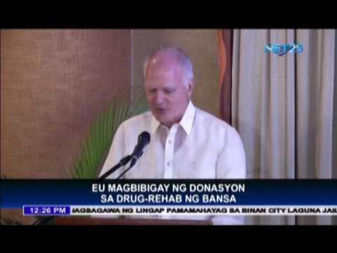 EU to give financial assistance to illegal drug campaign in the Philippines