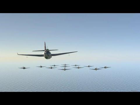 【war thunder】ジパング 米艦載機 対 駆逐艦みらい