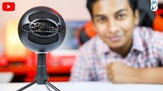 Blue Snowball iCE - ইউটিউবের জাতীয় মাইক্রোফোন! - Review