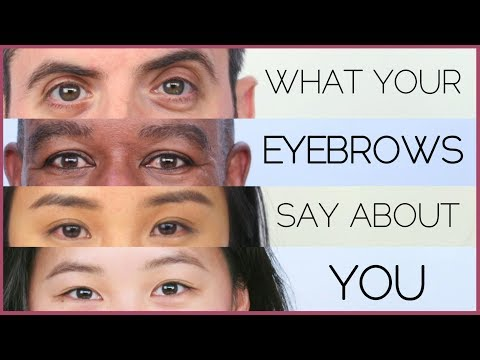 What Your Eyebrows Reveal About You