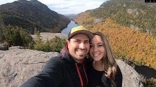 Hiking Indian Head Trail Adirondack Mountains