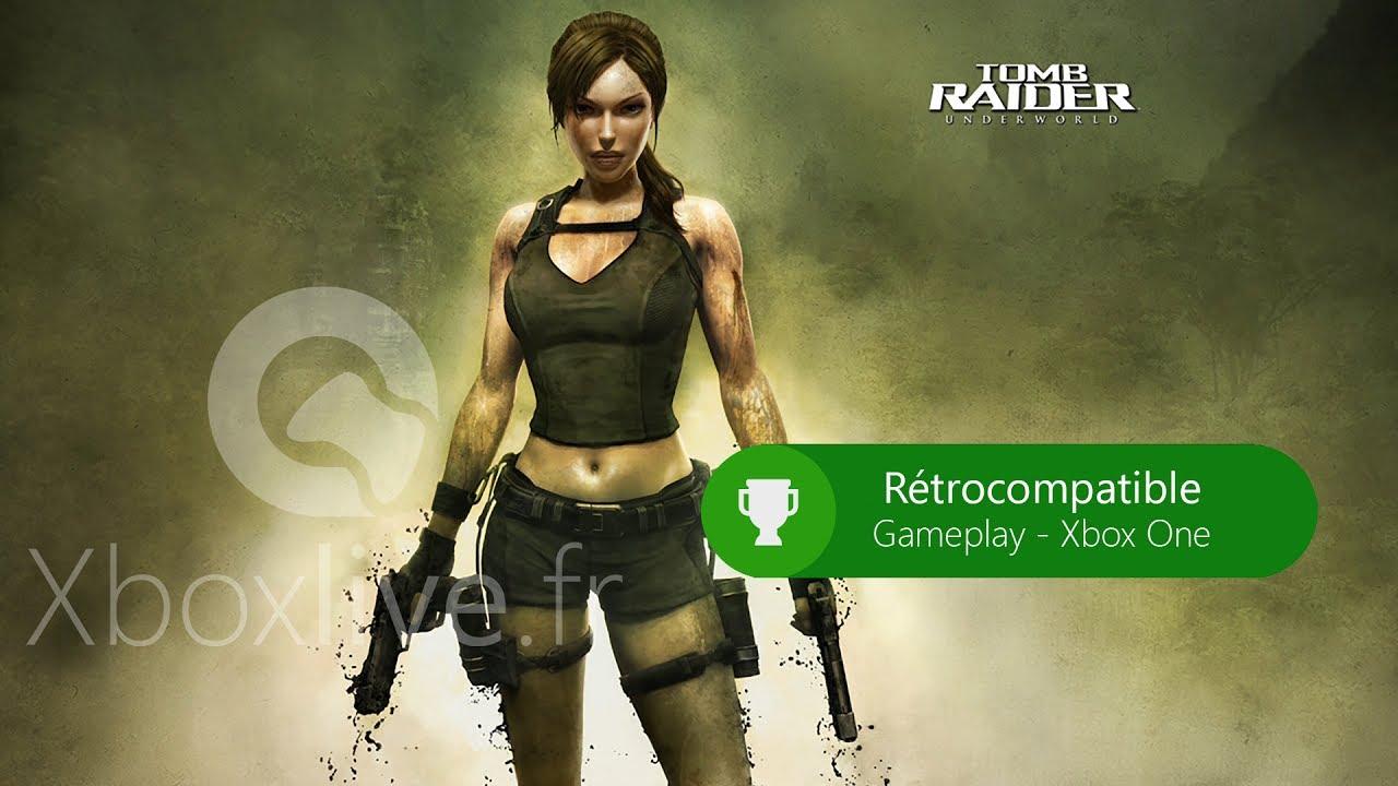 Tomb Raider Underworld Gameplay Xbox One Youtube