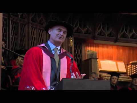 Simon King awarded honorary degree