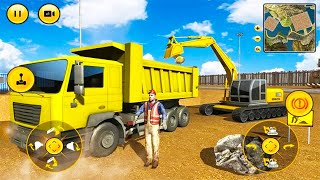 Mega Machines Construction Simulator 2021 - Highway Tunnel Construction - Android Gameplay