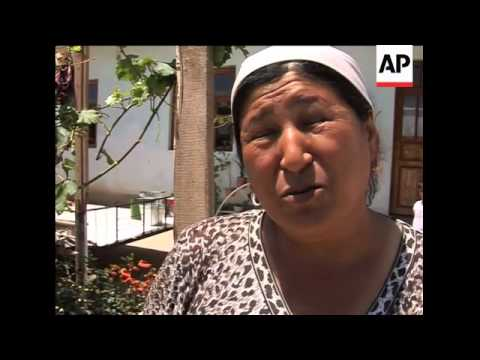 Ethnic Uzbeks refuse to return home saying they fear for their lives