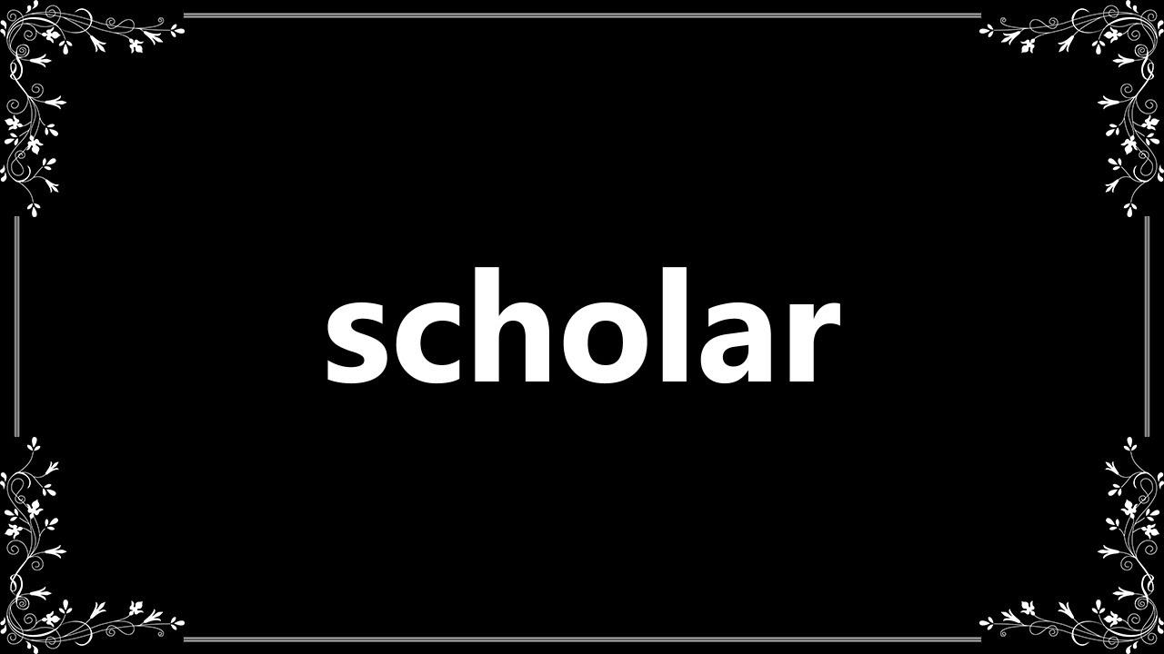 scholar meaning in arabic