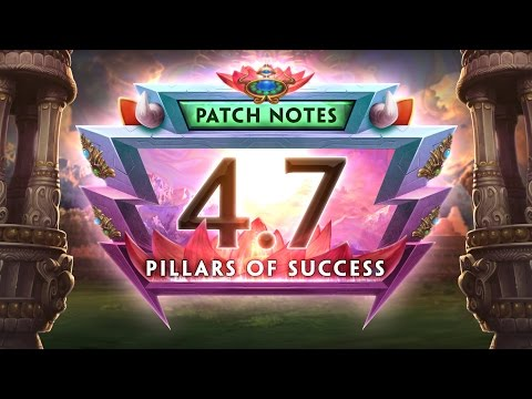 SMITE Patch Notes VOD - Pillars of Success (Patch 4.7)