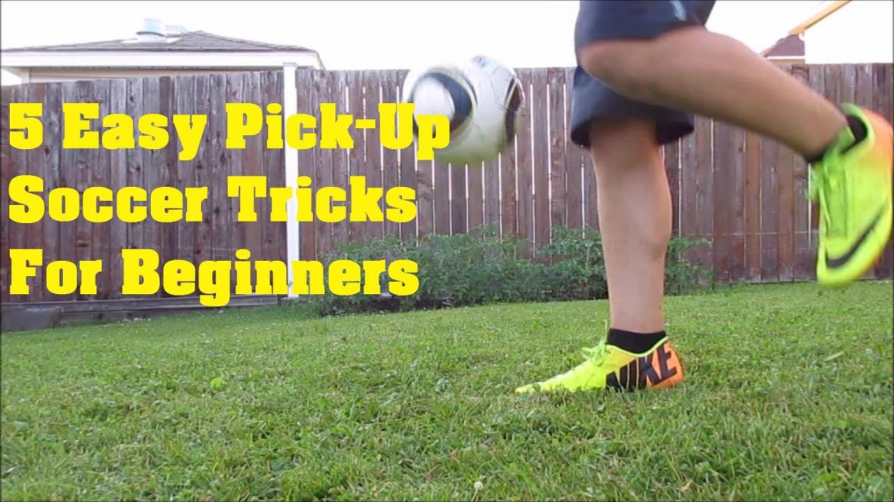 5 Easy Soccer/Football Pick Up Tricks For Beginners - YouTube
