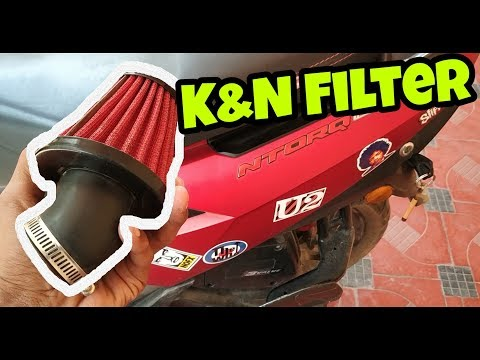 K&N Filter for Ntorq 125!!