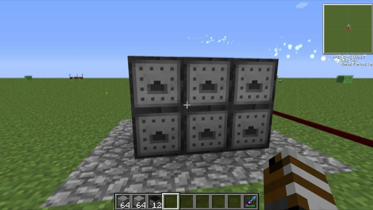 How to make a crusher in Minecraft 97
