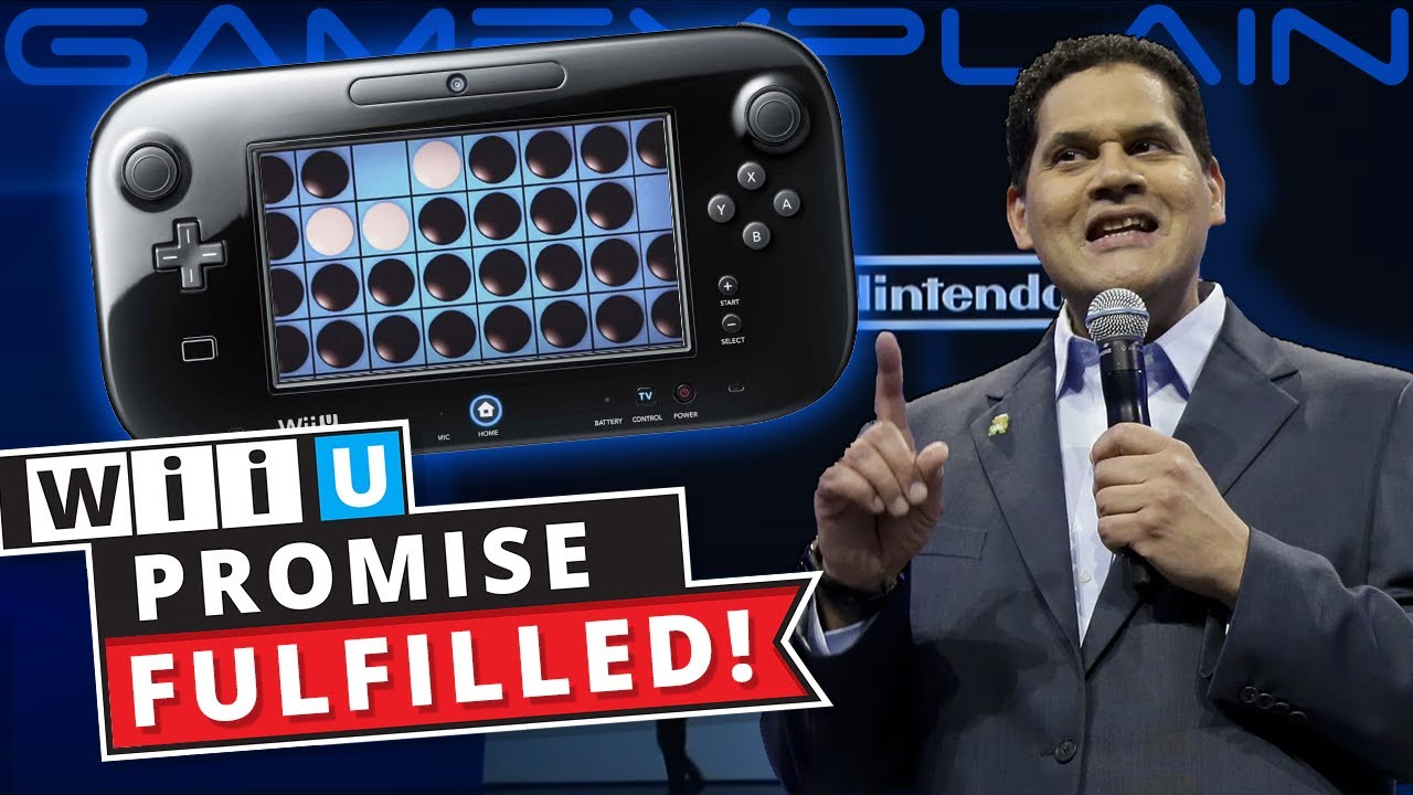 A Wii U Promise Finally Fulfilled 9 Years Later! (Clubhouse Games Secret)