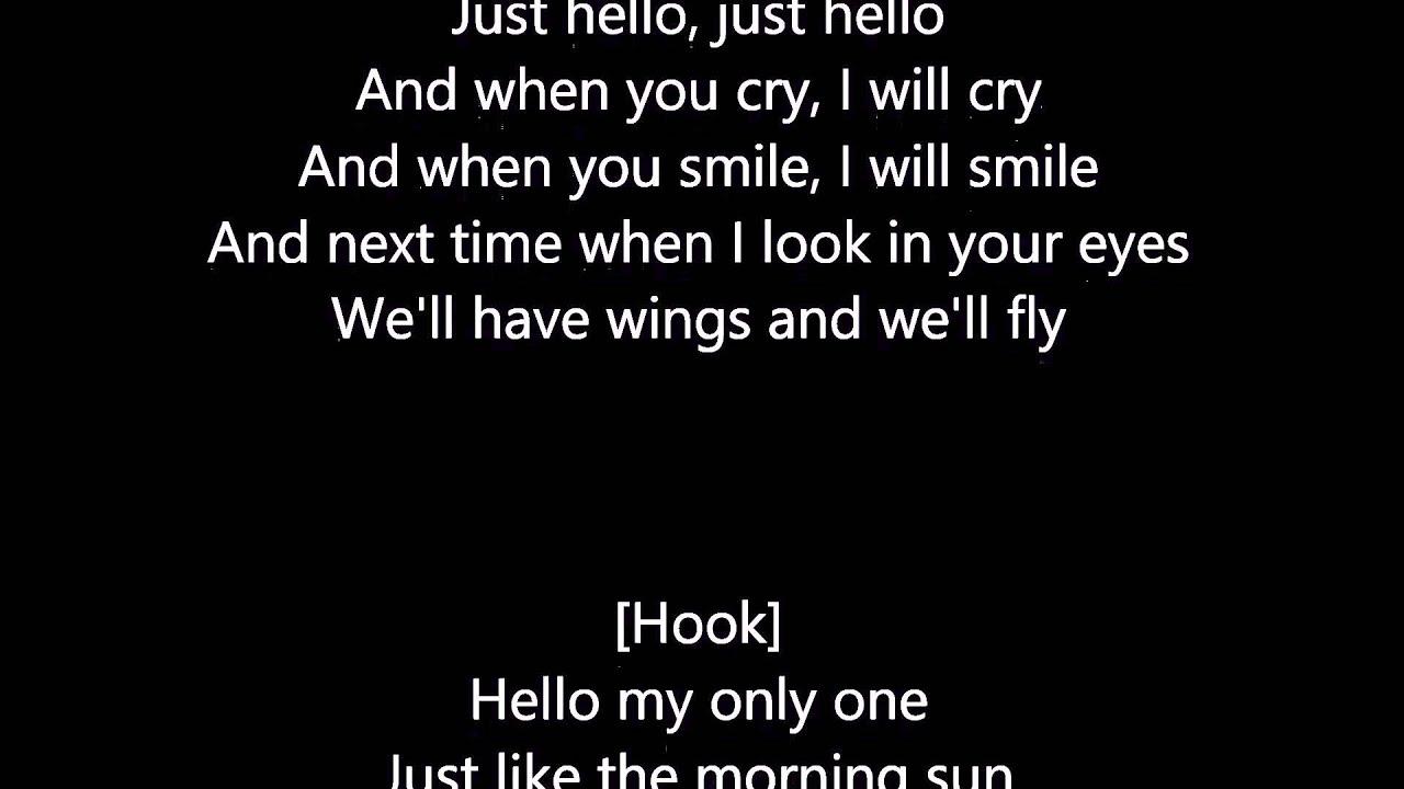 Kanye West - Only One (Lyrics) - YouTube