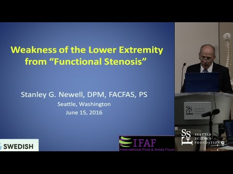Weakness of the Lower Extreminity - Stanley Newell, DPM