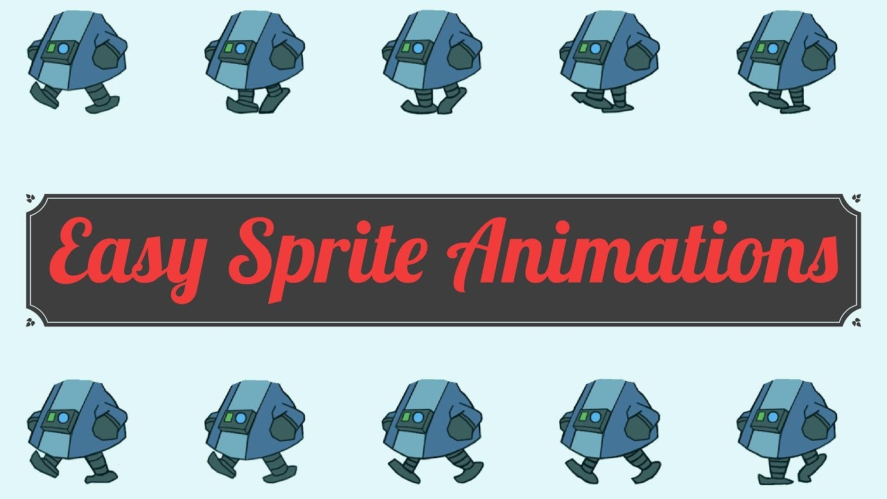 How to Setup Unity3D Sprite Animation - With multiple sprites